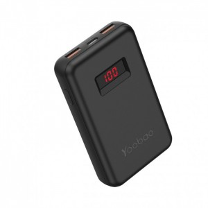 Yoobao PD10 Power Quick 10000mAh 18W PPS Type-C PD + Dual USB Port Fast Charge Mini Power Bank with Indicator