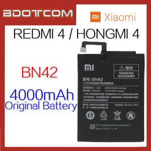 Original Xiaomi Redmi 4 / Hongmi 4 BN42 4000mAh Standard Replacement Battery