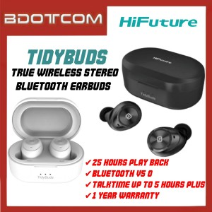 HiFuture TidyBuds True Wireless Bluetooth Earbuds Stereo Headphone with Charging Case