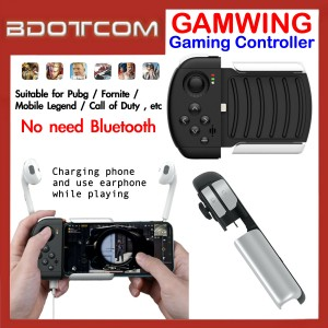 GAMWING Ao Bing Gaming Controller for Apple iPhone 7 / iPhone 8 / iPhone XR / iPhone XS / iPhone Xs Max / iPhone 11 / iPhone 11 Pro / iPhone 11 Pro Max