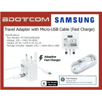 Original Samsung Adaptive Fast Charging Travel Adapter Charger with Micro USB Cable for Samsung Galaxy A01, A10s, A11, Note 5, Note 4, S7 Edge, S6 Edge Plus, Tab S2 9.7, Tab S 8.4, Tab S 10.5