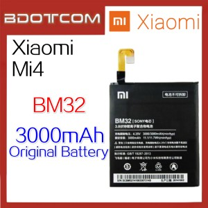 Original Xiaomi Mi4 / Mi 4 BM32 3000mAh Standard Replacement Battery