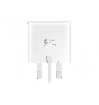 Samsung Adaptive Fast Charge Power Adapter for Samsung Galaxy A01, A10s, A11, A20s, A21s, A30s, A31, A50s, A51, A71, J1, J2, J3, J4, J5, J6, J7, J8, Note 2, Note 3, Note 4 Note 5, Note FE, Note8, Note9, Note10, S2, S3, S4, S5, S6, S7, S8, S9, S10, S20