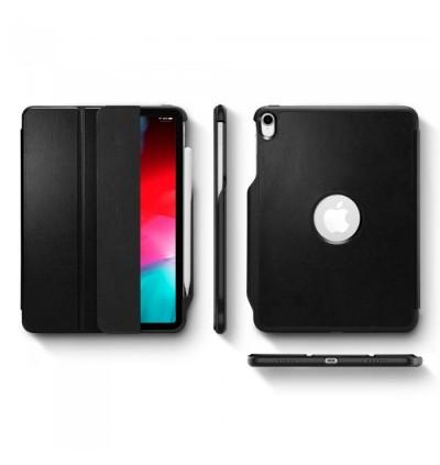 "(CRAZY SALES) Original Spigen Smart Fold 2 Protective Cover with Pencil Case for Apple iPad Pro 11"" (2018)"