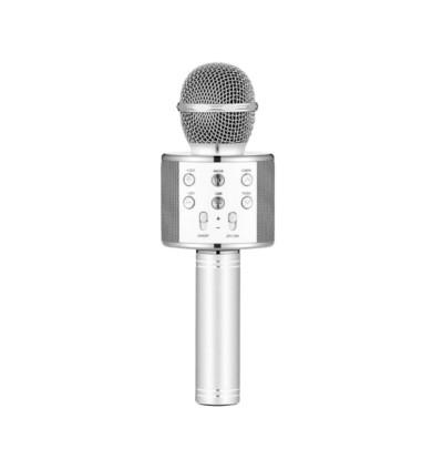 W858 Handheld Karaoke Wireless Bluetooth V4.2 Microphone with Hifi Speaker for Samsung / Apple / Huawei / Xiaomi / Vivo / Oppo