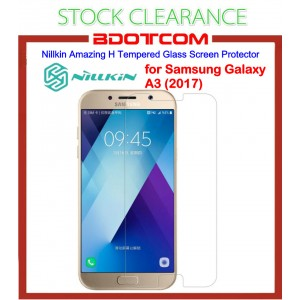 [CLEARANCE] Nillkin Amazing H tempered glass screen protector for Samsung Galaxy A3 (2017)