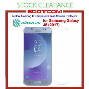 [CLEARANCE] Nillkin Amazing H Tempered Glass Screen Protector for Samsung Galaxy J5 (2017)