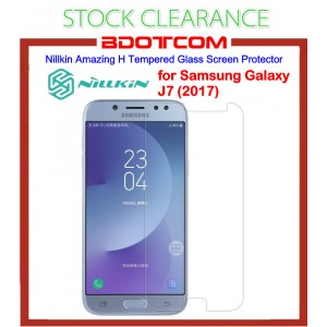 [CLEARANCE] Nillkin Amazing H Tempered Glass Screen Protector for Samsung Galaxy J7 (2017)