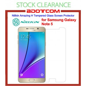 [CLEARANCE] Nillkin Amazing H Tempered Glass Screen Protector for Samsung Galaxy Note 5