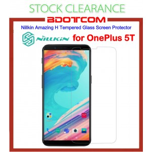 [CLEARANCE] Nillkin Amazing H Tempered Glass Screen Protector for Oneplus 5T