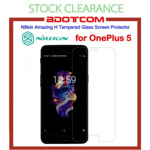 [CLEARANCE] Nillkin Amazing H Tempered Glass Screen Protector for Oneplus 5