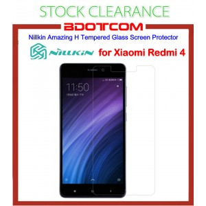 [CLEARANCE] Nillkin Amazing H Tempered Glass Screen Protector for Xiaomi Redmi 4
