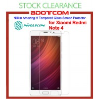 [CLEARANCE] Nillkin Amazing H Tempered Glass Screen Protector for Xiaomi Redmi Note 4