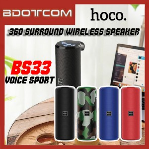 Hoco BS33 Voice Sport 360' Surround Sound Bluetooth Wireless Speaker
