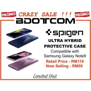 (CRAZY SALES) Original Spigen Ultra Hybrid Protective Cover Case for Samsung Galaxy Note9
