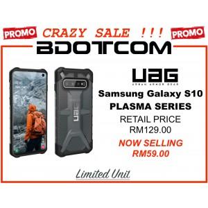 (CRAZY SALES) Original UAG Urban Armor Gear Plasma Series Military Grade Protection Case for Samsung Galaxy S10 (ASH)