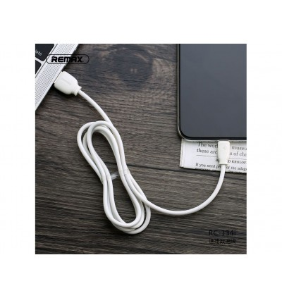 Remax RC-134i Suji series 2.1A Lightning Smart Chip Data Cable