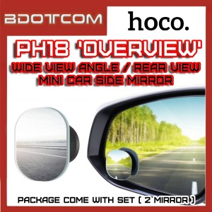 Hoco PH18 Overview Wide View Angle / Rear View Mini Car Side Mirror