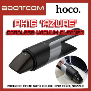 Hoco PH16 Azure Cordless Vacuum Rechargable Mini Cleaner for Car / Keyboard / Sofa