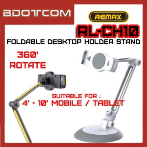 Remax RL-CH10 Foldable Desktop Holder Stand for Mobile Phone and Tablet