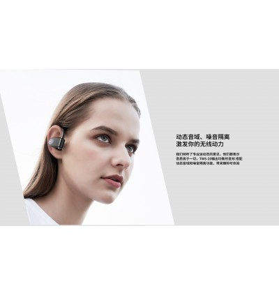 Remax TWS-20 True Stereo Waterproof Wireless Bluetooth V5.0 Music Earbuds with Charging Case for Samsung / Apple / Huawei / Xiaomi / Oppo / Vivo