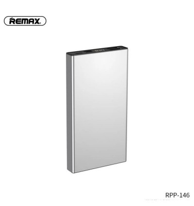 Remax RPP-146 Janlon Series Dual USB Ports 10000mAh Fast Charge Power Bank for Samsung / Apple / Xiaomi / Huawei / Oppo / Vivo