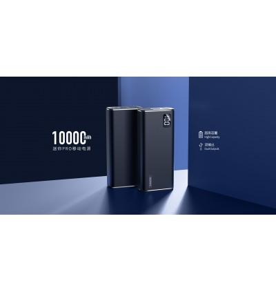 Remax RPP-155 Mini Pro Dual USB Ports 10000mAh Fast Charge Power Bank for Samsung / Apple / Xiaomi / Huawei / Oppo / Vivo