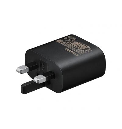 Original Samsung Super Fast Charging 2.0 Travel Adapter (PD 3.0 PPS Max) 25W TYPE-C Charger with USB TYPE-C to TYPE-C Cable for Samsung Galaxy Tab S4, Tab S5E, Tab S6 Lite, Tab S7 Plus, Note20 Ultra, Note10 Lite, Note 10 Plus, S20, S20+, S20 Ultra