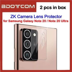 ZK Camera Lens Tempered Glass Screen Protector (2 pcs) for Samsung Galaxy Note 20 / Note 20 Ultra