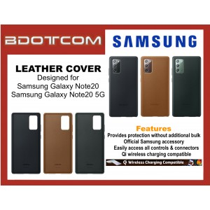 Original Samsung Leather Cover for Samsung Galaxy Note20 / Samsung Galaxy Note20 5G
