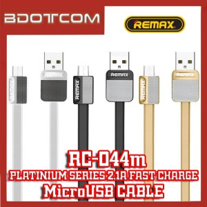 Remax RC-044m Platinum series MicroUSB 2.1A Fast Charge Data Cable