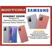 Original Samsung Kvadrat Cover Stylish Durable Case for Samsung Galaxy Note20 / Samsung Galaxy Note20 5G