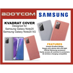Original Samsung Kvadrat Cover Stylish Durable Case for Samsung Galaxy Note20 / Samsung Galaxy Note20 5G