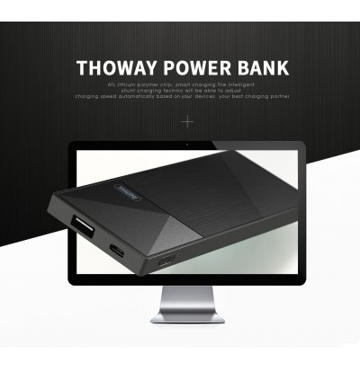 Remax RPP-54 Thoway Series Single USB Port 5000mAh Fast Charge Power Bank for Samsung / Apple / Xiaomi / Huawei / Oppo / Vivo