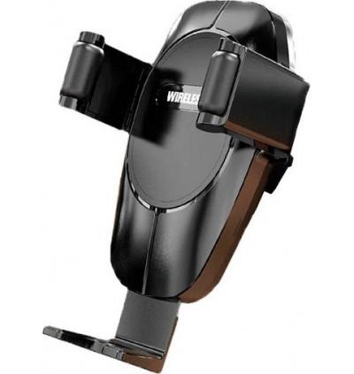 Moxom MX-VS07 Kraftwerk Series 10W Wireless Fast Charging Air Vent Car Mount Phone Holder for Samsung / Apple / Huawei / Xiaomi / Oppo / Vivo / Toyota / Honda / Mazda / Proton / Perodua, BMW / Benz Mercedes