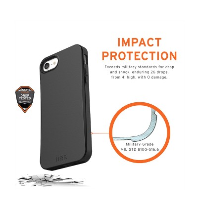 Original UAG Biodegradable Outback Series Protective Case for Apple iPhone SE 2020, iPhone SE 2nd Generation