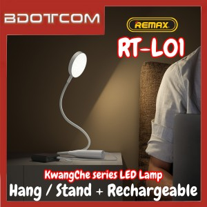 Remax RT-L01 KwangChe series Vientiane Hang / Stand 1200mAh Rechargeable LED Desk Lamp