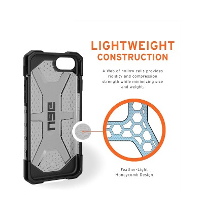Original UAG Plasma Series Protective Cover Case for Apple iPhone SE 2020, iPhone SE 2nd Generation