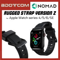 Nomad Rugged Strap Version 2 Black Hardware for Apple Watch Series 4 / Series 5 / Series 6 / SE