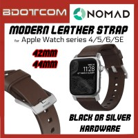 Nomad Brown Modern Leather Strap 42mm / 44mm for Apple Watch series 4 / Series 5 / Series 6 / SE