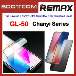 Remax GL-50 Chanyi Series Full Covered 0.15mm Ultra Thin Steel Film Tempered Glass Screen Protector for Apple iPhone 12 Mini / iPhone 12 / iPhone 12 Pro / iPhone 12 Pro Max