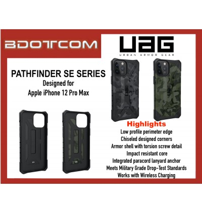 Original UAG Pathfinder SE Series Protective Cover Case for Apple iPhone 12 Pro Max