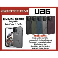 Original UAG Civilian Series Protective Cover Case for Apple iPhone 12 Pro Max