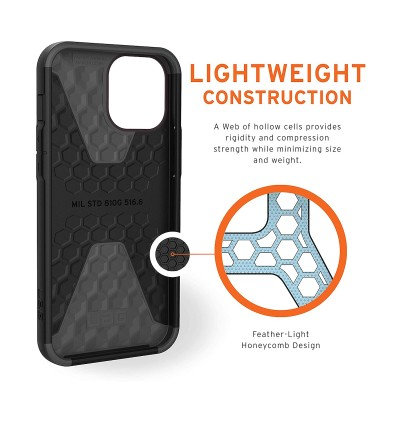 Original UAG Civilian Series Protective Cover Case for Apple iPhone 12 Pro Max