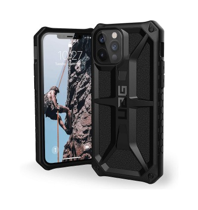 Original UAG Monarch Series 2X Military Standard 5 Layer Premium Protection Cover Case for Apple iPhone 12 Pro Max