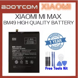 [FREE TOOLS] Xiaomi Mi Max BM49 4760mAh Replacement Standard Battery
