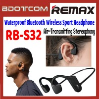 Remax RB-S32 Redofine Mode Air-Transmitting Stereophony Waterproof Bluetooth V5.0 Wireless Sport Headphone for Samsung / Apple / Xiaomi / Huawei / Xiaomi / Oppo / Vivo / Realme / OnePlus