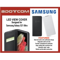 Original Samsung Smart LED View Cover Wallet Case for Samsung Galaxy S21 Ultra