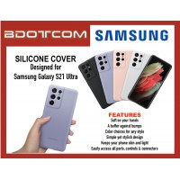Original Samsung SIlicone Cover Case for Samsung Galaxy S21 Ultra