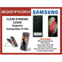 Original Samsung Clear Standing Cover for Samsung Galaxy S21 Ultra